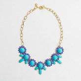 J.Crew Factory Factory crystal petal necklace