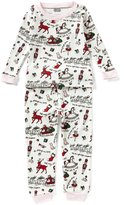 Mud Pie Baby Girls 9-18 Months Very Merry Christmas Pajama Top & Pajama Pant Set