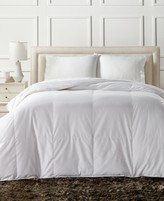 Charter Club European White Down Lightweight Full/Queen Comforter