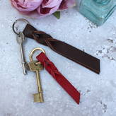Miller and Jeeves Leather Twist Key Ring