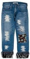 Junya Watanabe Comme des Garçons Patchwork Mid-Rise Jeans