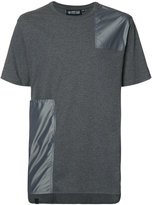 Mostly Heard Rarely Seen patchwork T-shirt - men - Cotton/Nylon - S