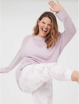 aerie OFFLINE Open Knit Sweater