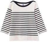 Petit Bateau Girls jersey Breton top