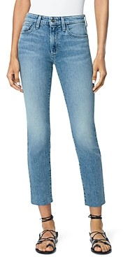 Joe's Jeans The Lara Raw Hem Straight Ankle Jeans in Charisma