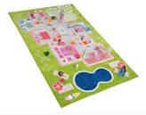 78.5'' Green Playhouse 3-D Play Mat