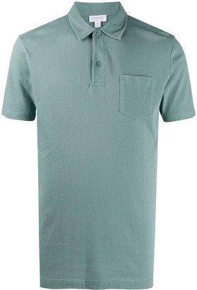 Sunspel Short-Sleeve Polo Shirt