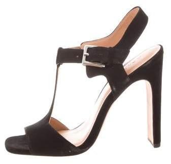 ceef1b9a30c Halston Black Heeled Women's Sandals - ShopStyle