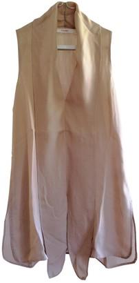 Jucca Beige Silk Top for Women