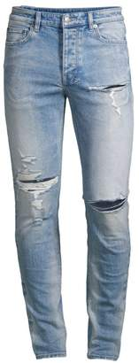 Ksubi Opposite of Opposite Slim-Fit Chitch Punk Distressed Jeans