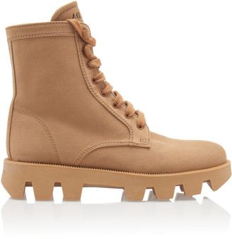 Prada Washed Combat Boots