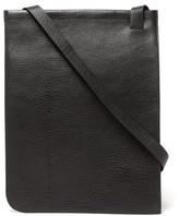 Lemaire Grained-leather Tote Bag - Womens - Black