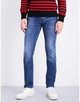 Ami Alexandre Mattiussi Slim-fit tapered mid-rise jeans