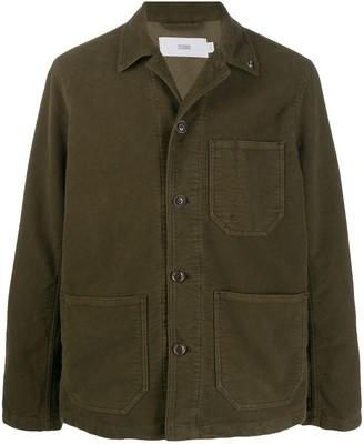 Closed worker corduroy jacket