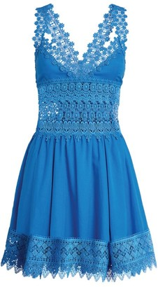 Charo Ruiz Ibiza Marylin Lace Mini Dress