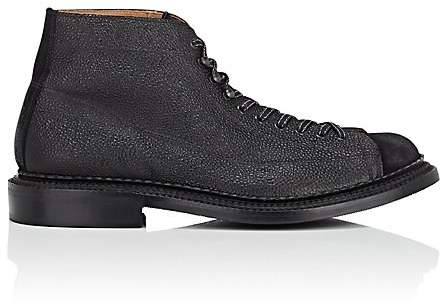 Grenson MEN'S GUS LEATHER & SUEDE BOOTS