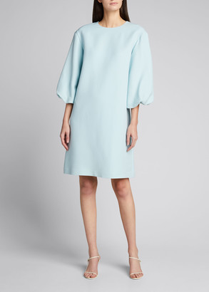 Lafayette 148 New York Duffy Charisma Cloth Shift Dress