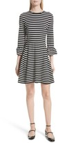 Kate Spade Women's Stripe Fit-And-Flare Dress