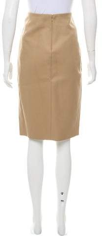 Nellie Partow Straight Skirt w/ Tags