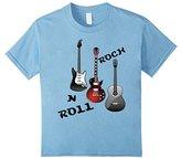 Kids Rock N Roll Guitar T-shirt Boys Girls Youth Child And Play