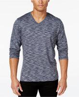 Alfani Men's Tri-Color Long-Sleeve T-Shirt, Only at Macy's