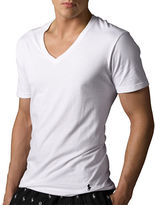 Polo Ralph Lauren Big and Tall Classic Cotton V-Neck T-Shirt Set