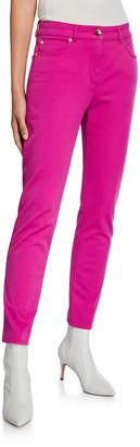 Escada Five-Pocket Skinny-Leg Ankle Jeans