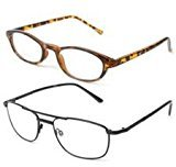 Icon Eyewear +2.25 Strength I Vision Series Reading Glasses Assorted Frames