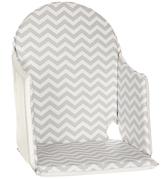 John Lewis Chevron Highchair Insert, Grey