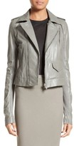 Rick Owens Women's Stooges Leather Jacket