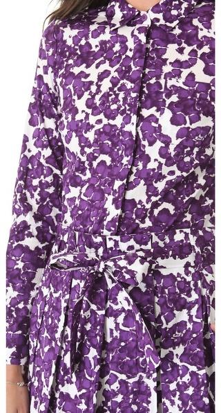 Diane von Furstenberg Montana Shirt Dress