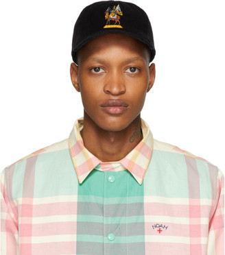 Noah NYC Black Corduroy Wind God Cap