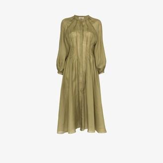 Three Graces Valeraine button-down dress