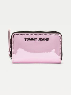 Tommy Hilfiger Small Metallic Zip-Around Wallet
