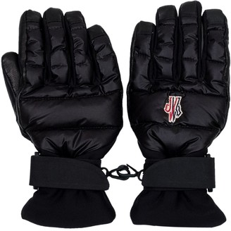 MONCLER GRENOBLE Logo Patch Gloves