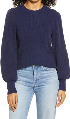 Halogen Blouson Sleeve Sweater