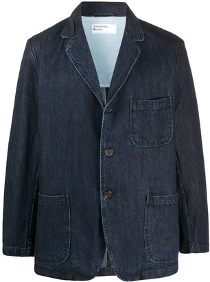 Universal Works Denim Button Blazer