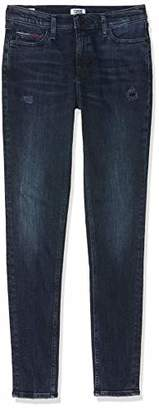 Tommy Jeans Women's Mid Rise Skinny Nora Hkdk Straight Jeans,W32/L32 (Size: 3232)