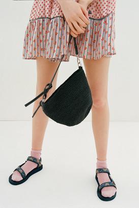 Urban Outfitters Jessa Straw Crossbody Bag