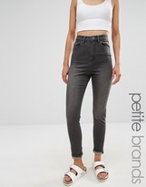 Waven Petite Anika High Rise Skinny Jeans