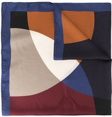 Mulberry silk patterned scarf