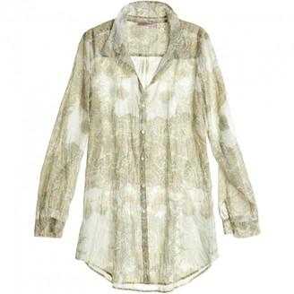 Calypso St. Barth \N Beige Cotton Top for Women