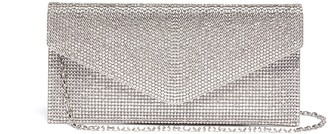 Judith Leiber Crystal pave envelope clutch