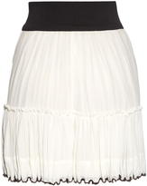 Isabel Marant Roscoe zip-front cotton-crepe skirt