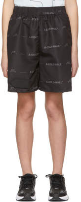 A-Cold-Wall* A Cold Wall* Black Logo Shorts