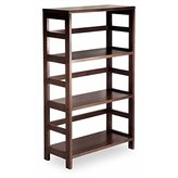 Winsome Wood 3-Shelf Wide Shelving Unit