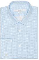 Perry Ellis Very Slim Tiny Leaf Print Dress Shirt