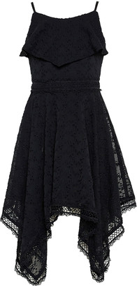 Bardot Junior Girl's Savanna Lace-Trim Handkerchief Dress, Size 7-16