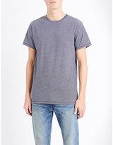 A.p.c. Stitch Stripe-print Cotton-jersey T-shirt