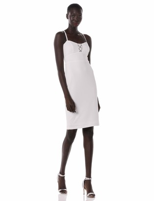 Bebe Women's Illusion Cutout Cocktail Dress